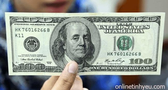 Tờ tiền 100 USD