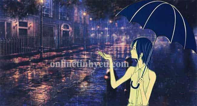 Cũng tại mưa ngâu