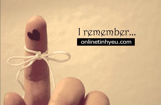 Những điều không thể quên