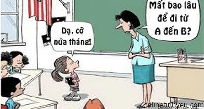 Câu hỏi dành cho cô giáo