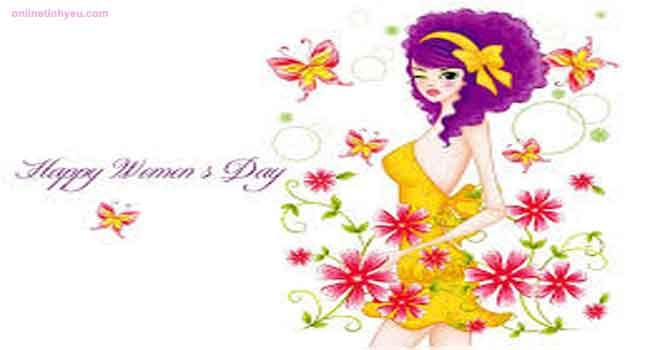 Lời chúc mừng ngày Quốc tế Phụ nữ  2