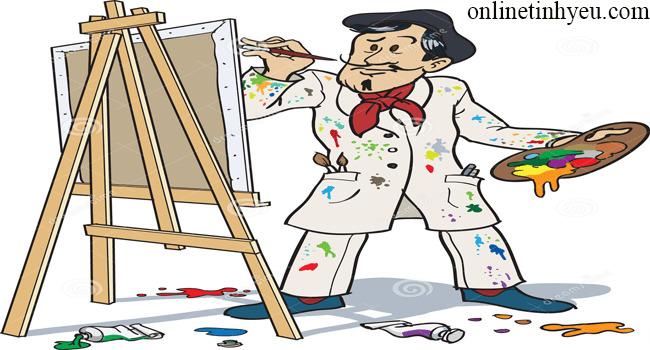 Bức tranh bị bôi bẩn