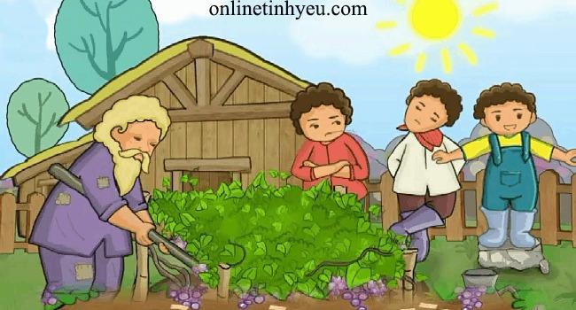 Người nông dân và các con