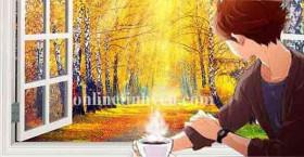 Viên xúc xắc mùa thu