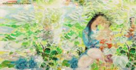 Vườn hoa của mẹ