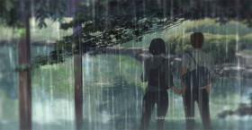 Thương em chiều mưa